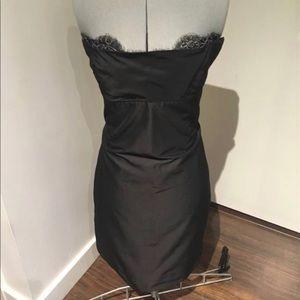 Lida baday strapless mini dress - size 4